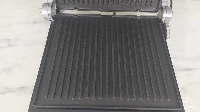 plaque en aluminum du gril lidl