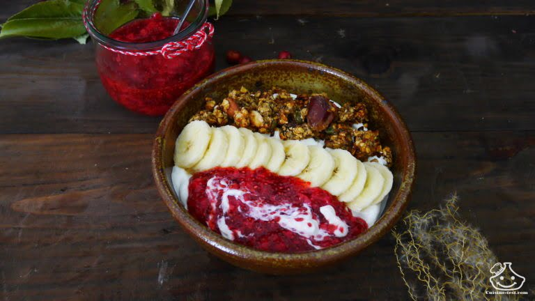 recette petit déjeuner healthy, le plein d'énergie