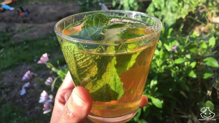 thé glacé maison sans sucre