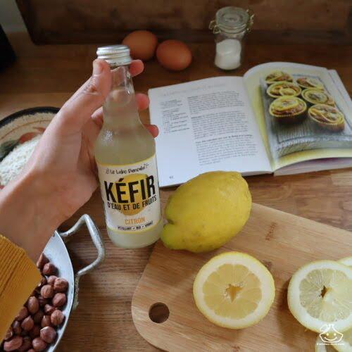 Kéfir de fruits citron