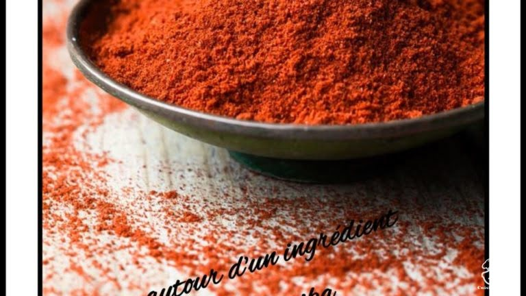 Marinade à base de paprika