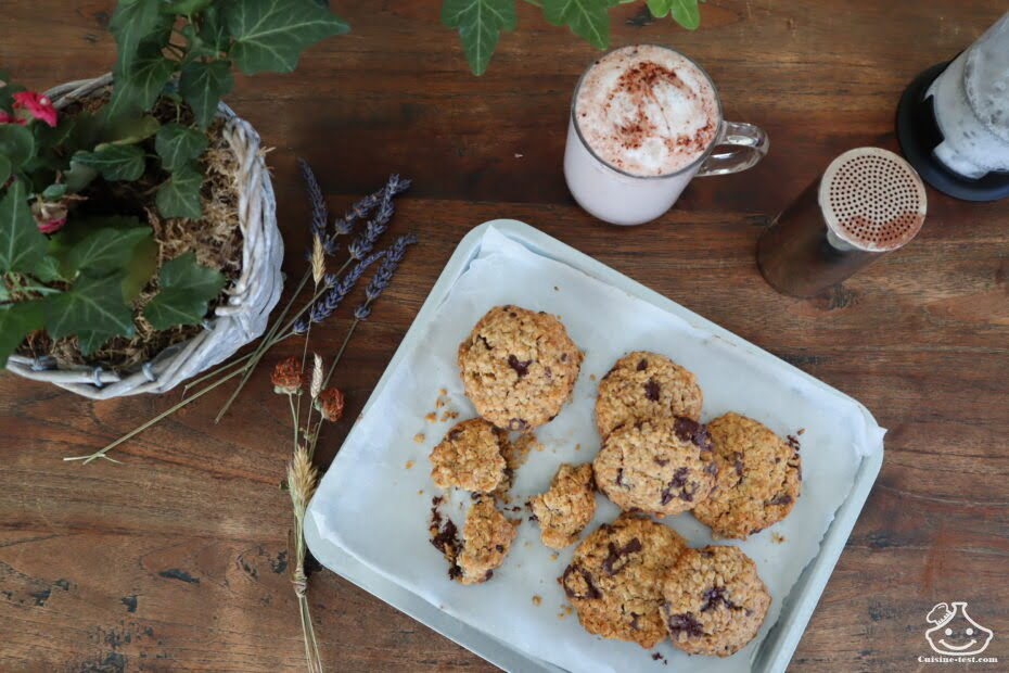 Cookies flocons d'avoine sans sucre