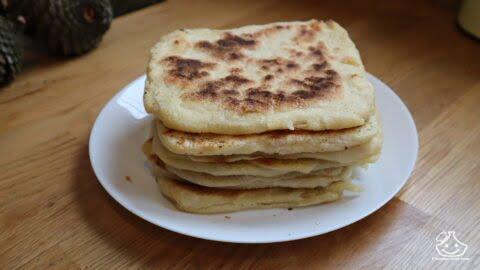 Malwi, crêpes marocaine