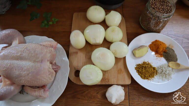 Rfissa au poulet, le poulet à la marocaine !