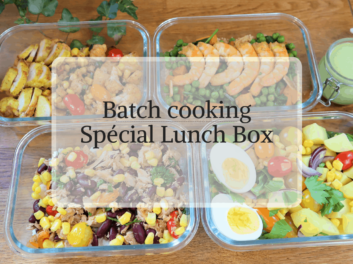 Batch Cooking Spécial Lunch Box