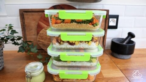 Batch cooking lunch box