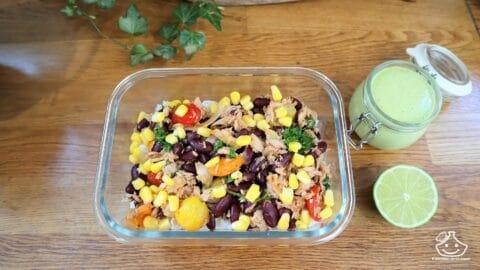 Batch cooking lunch box légumes à la mexicaine