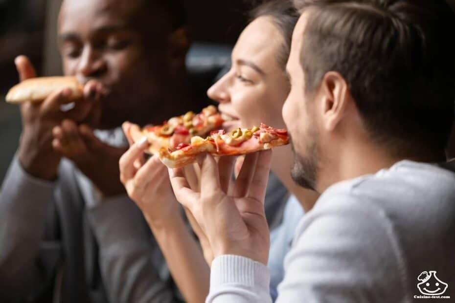 Pizza maison pour buffet