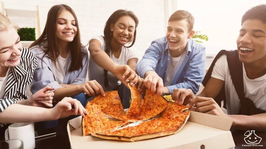 Recette pizza buffet
