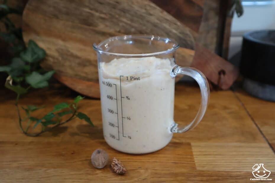 Sauce béchamel sans lactose