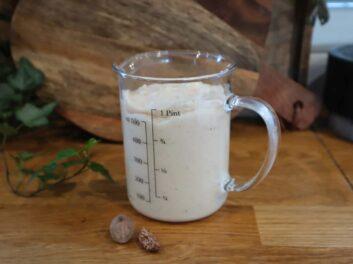 Béchamel sans lactose et sans gluten
