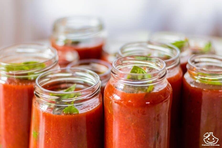Sauce tomate monsieur cuisine