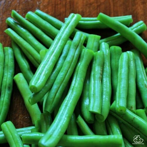 Stérilisation des haricots verts à la cocotte minute