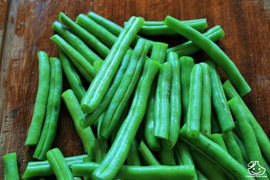 Stérilisation haricot vert