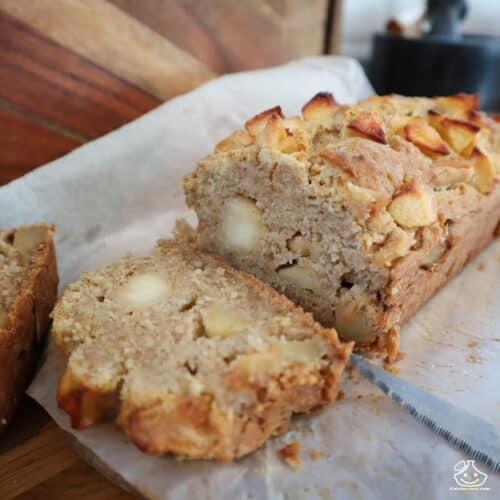 Gâteau aux pommes au levain