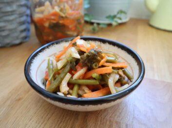 Kimchi de légumes