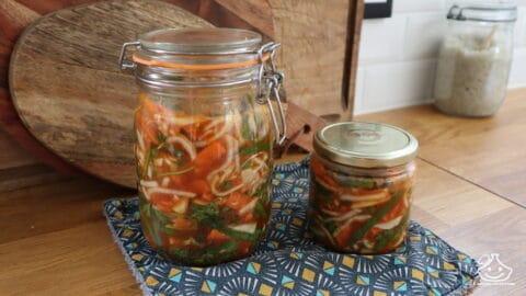 Légumes fermentés maison