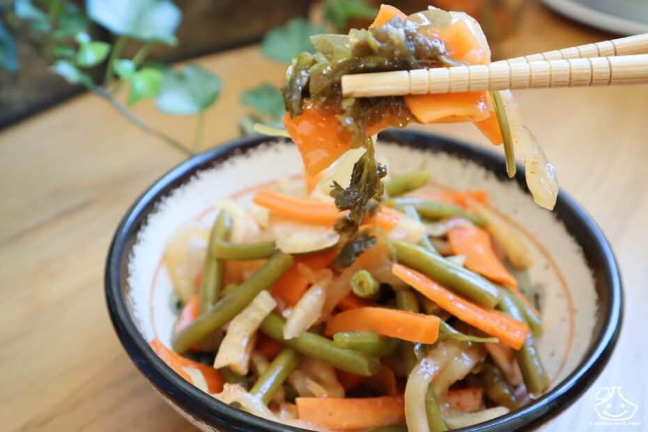 Légumes lactofermentés maison