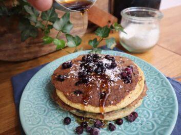 American Pancakes Recette du livre Mes recettes healthy #2 de Thibault Geoffray