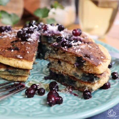 Americain Pancakes Recette du livre Mes recettes healthy #2 de Thibault Geoffray