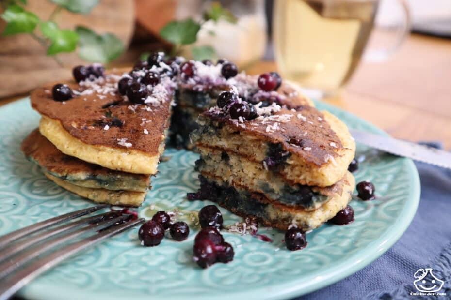 Recette pancakes Thibault Geoffray