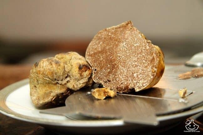 Comment cuisiner la truffe blanche