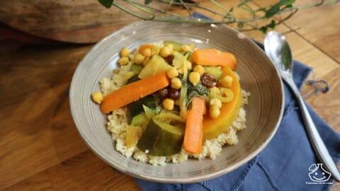 Recette couscous végétarien rapide
