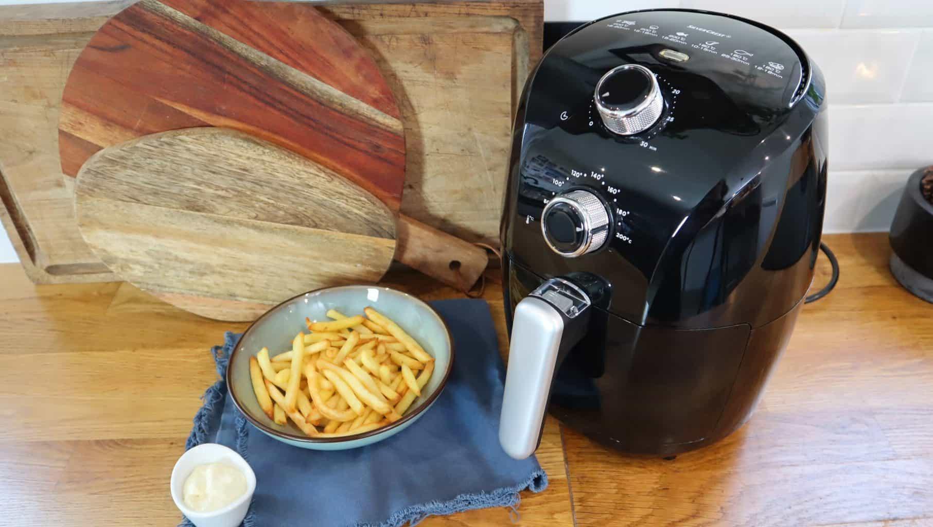 Friteuse à air chaud Silvercrest de Lidl