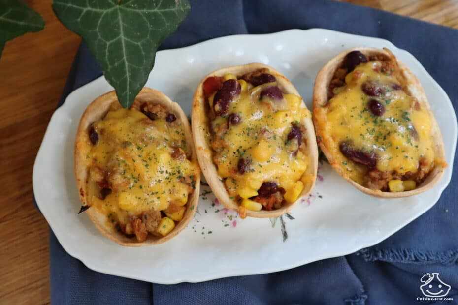 Mini enchiladas