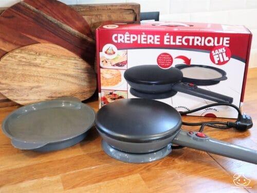 Avis : crêpière électrique sans fil, Kitchen Pro