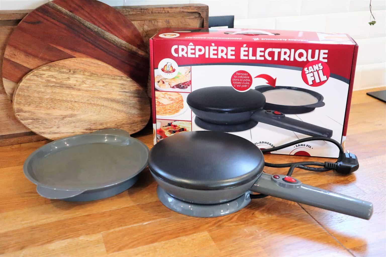 Kitchen Pro - Crêpière électrique sans Fil