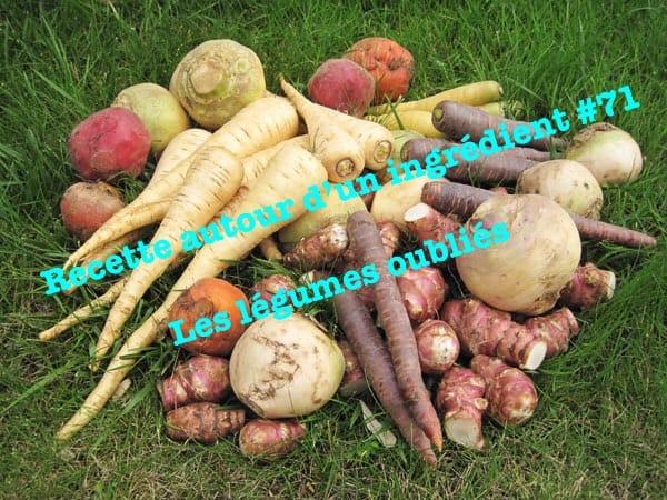 Recette autour d'un ingrédients légumes anciens