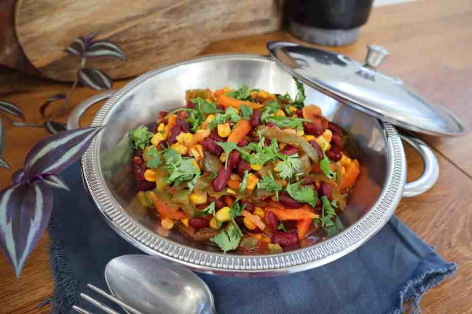 Chili végétarien au cookeo