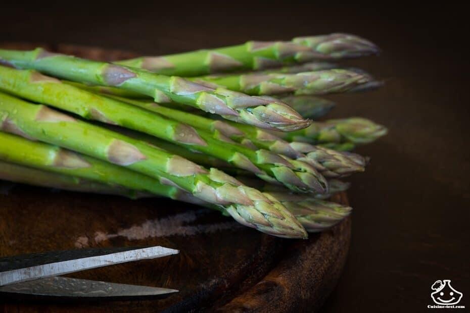 Comment faire des asperges vertes ?