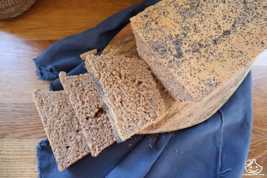 Recette de pain demi aux graines de pavot