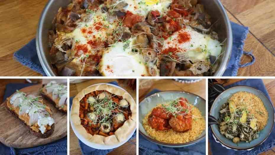Batch cooking pour la semaine au Cookeo