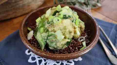 Curry de chou-fleur quinoa