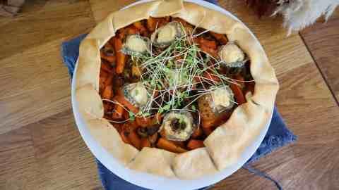 Tarte aux carottes à la marocaine