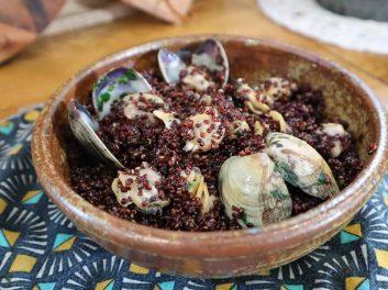 Quinoa aux palourdes, recette au Cookeo