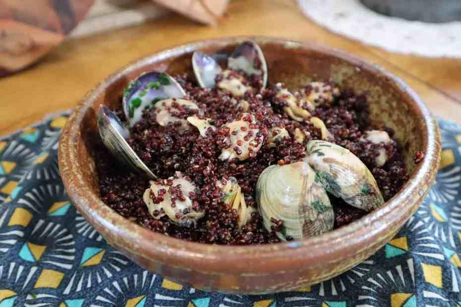 Quinoa aux palourde au Cookeo