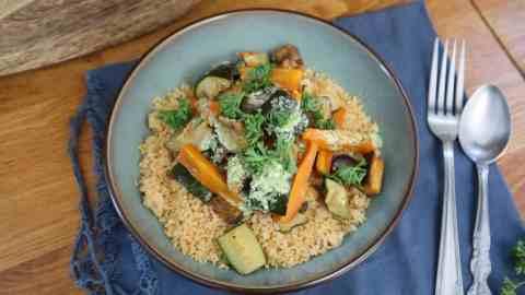 Légumes rôtis batch cooking